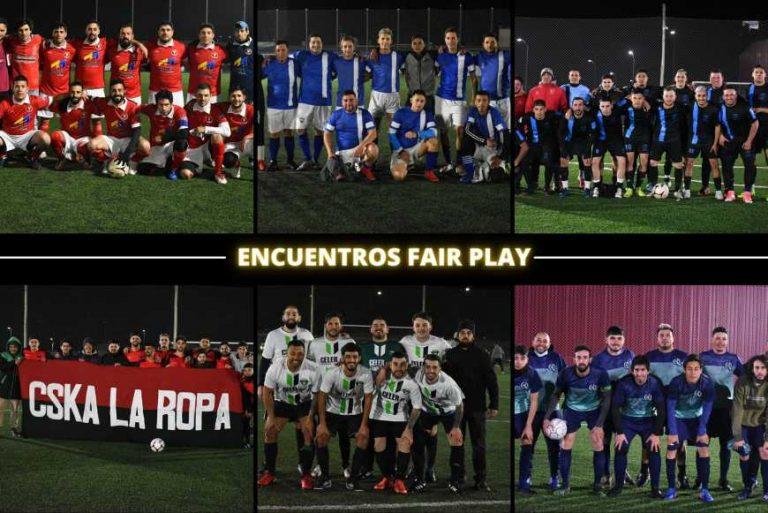 ¡Partidos Fair Play!